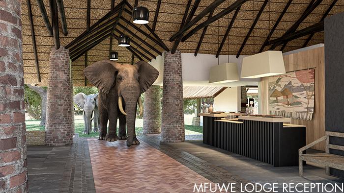 Mfuwe Lodge Reception